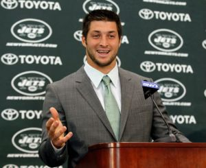 The Five Minute Guide Jets Tebow
