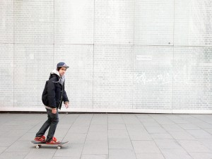 The Five Minute Guide skateboard