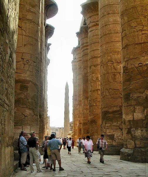 The 5 Minute Guide to Karnak-hypostyle