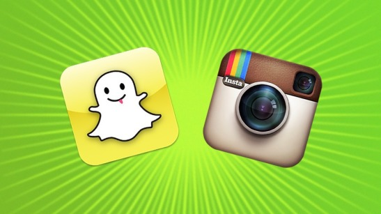The 5 Minute Guide to Instagram v snapchat