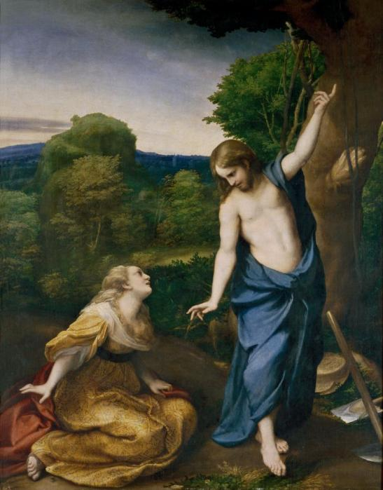 Antonio Corregio - Noli Me Tangere c. 1525