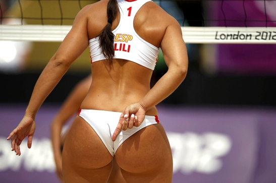 The 5 Minute Guide -  SFindit Beach Volleyball Lili Spain London Olympics Hot Volleyballers