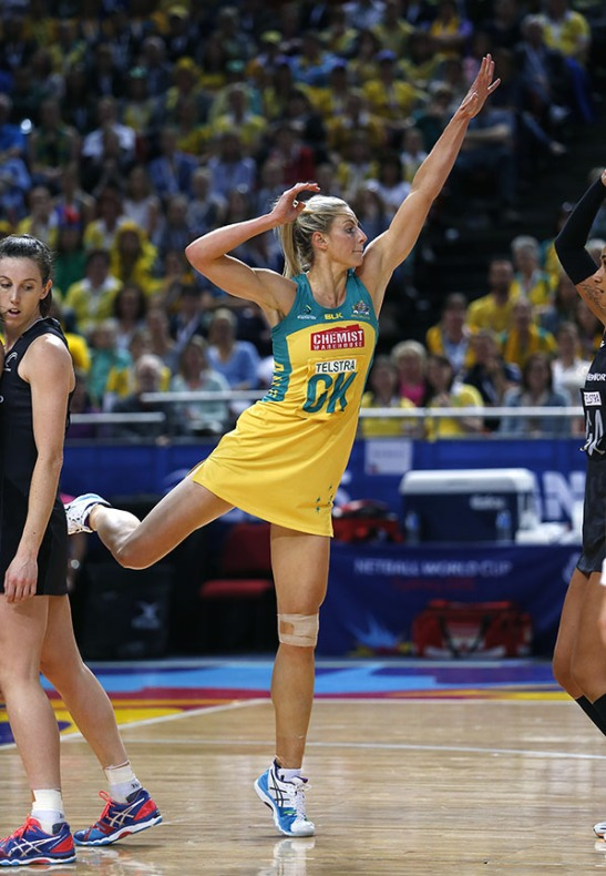 The 5 Minute Guide - SFindit Netball Laura Geitz Australia World Cup